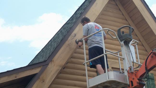 Lexington-North-Carolina-Log-Home-Repair-and-Maintenance