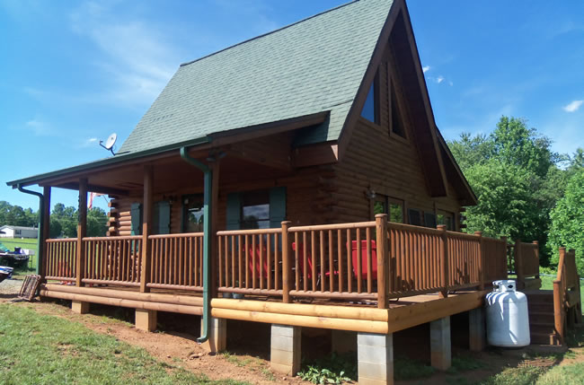 Log Home Inspections in North Carolina